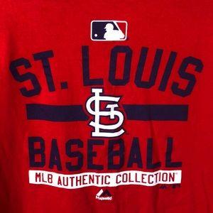 MLB 2XL St. Louis Baseball Shirt Sleeve